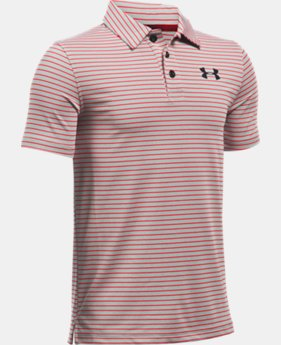 New to Outlet Boys' UA Composite Stripe Polo  LIMITED TIME: FREE U.S. SHIPPING  $22.49 to $29.99