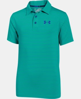 New to Outlet Boys' UA Composite Stripe Polo  LIMITED TIME: FREE U.S. SHIPPING 2 Colors $22.49 to $29.99