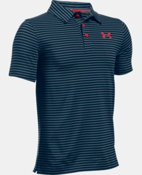 New Arrival Boys' UA Composite Stripe Polo   $39.99