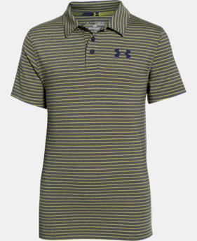 Boys' UA Composite Stripe Polo  1 Color $29.99
