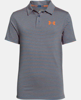Best Seller Boys' UA Composite Stripe Polo LIMITED TIME: FREE SHIPPING 1 Color $39.99