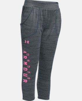 Girls' UA Tech™ Capri  3 Colors $26.99 to $33.99