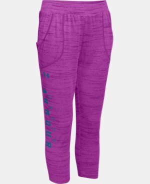 Girls' UA Tech™ Capri  1 Color $17.99
