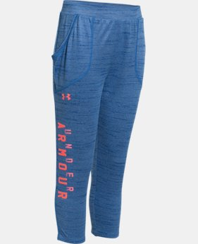 Girls' UA Tech™ Capri  2 Colors $17.99 to $23.99