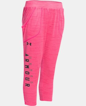 Girls' UA Tech™ Capri  2 Colors $25.49