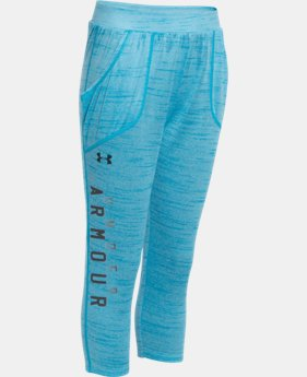 Girls' UA Tech™ Capri  1 Color $26.99 to $33.99
