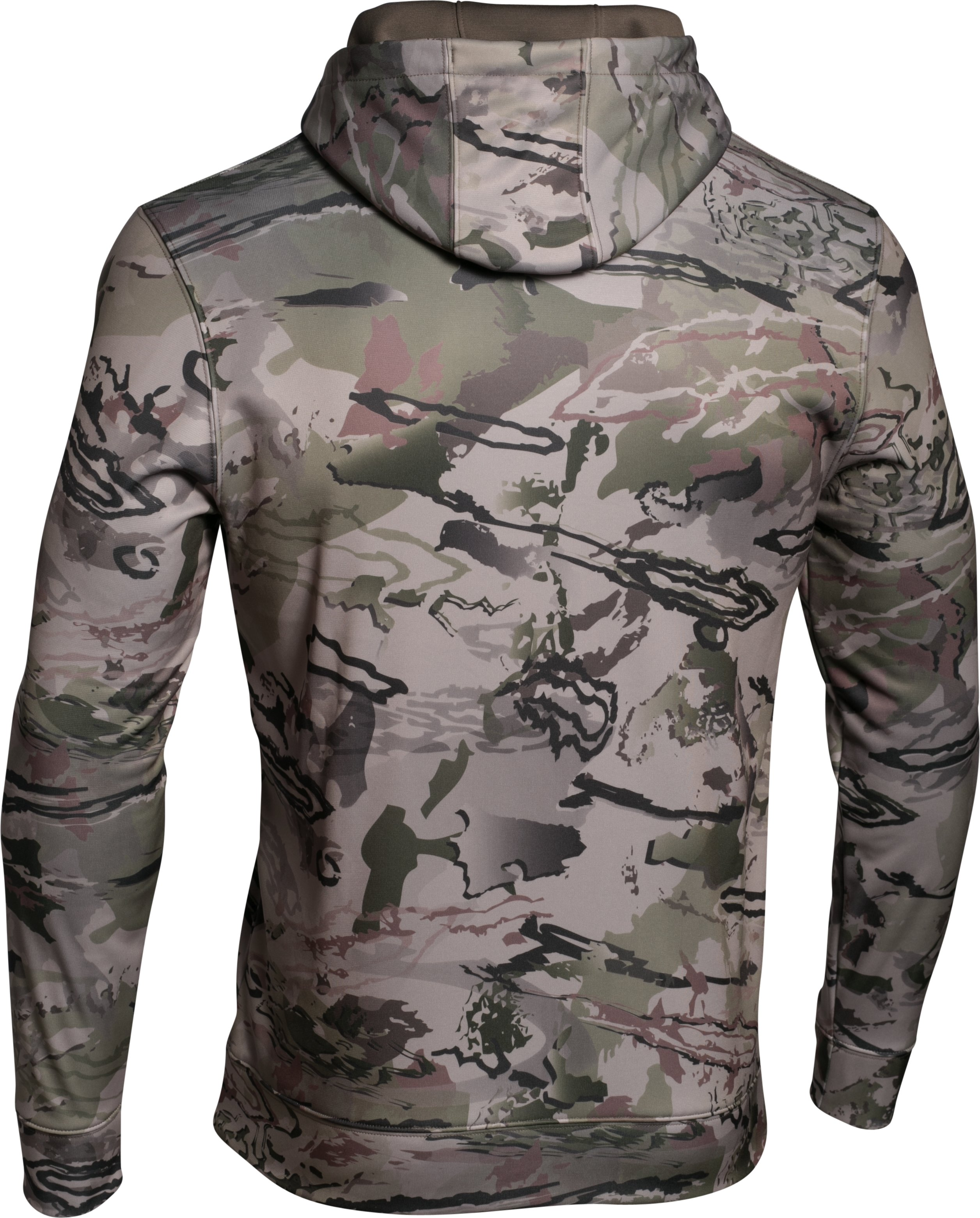 Men's UA Storm Camo Big Logo Hoodie, RIDGE REAPER® BARREN