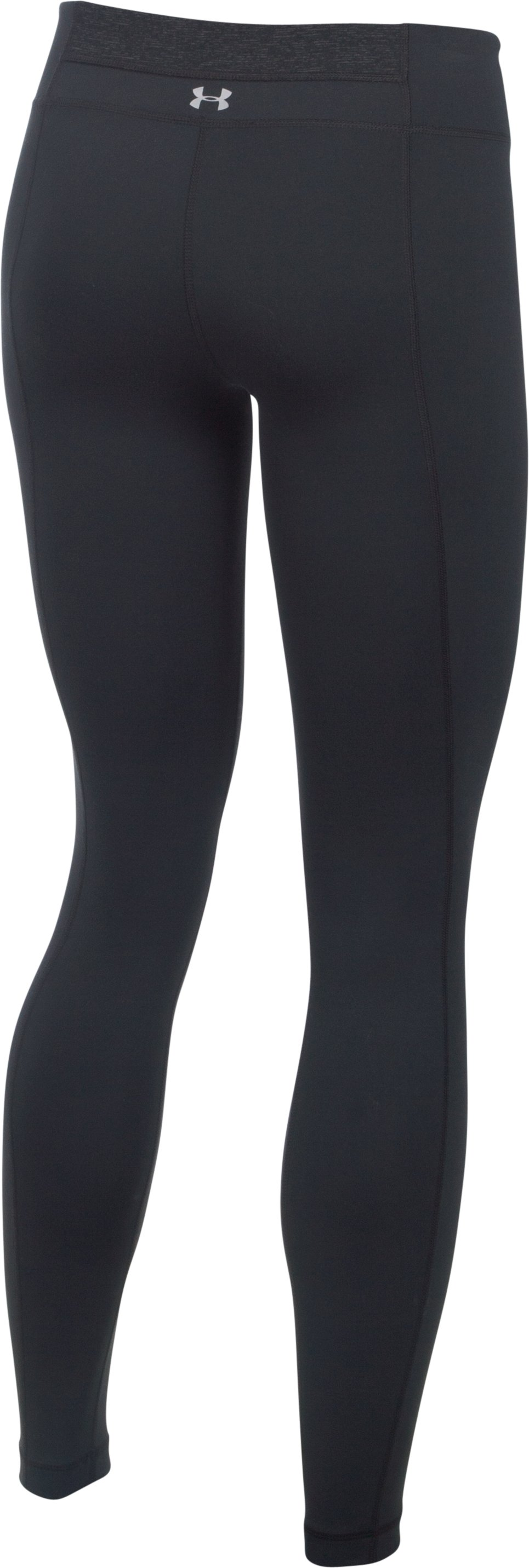 Women's UA Mirror Leggings, Black , undefined