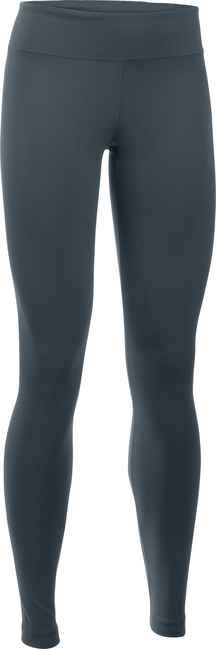 Women's UA Mirror Leggings, STEALTH GRAY,