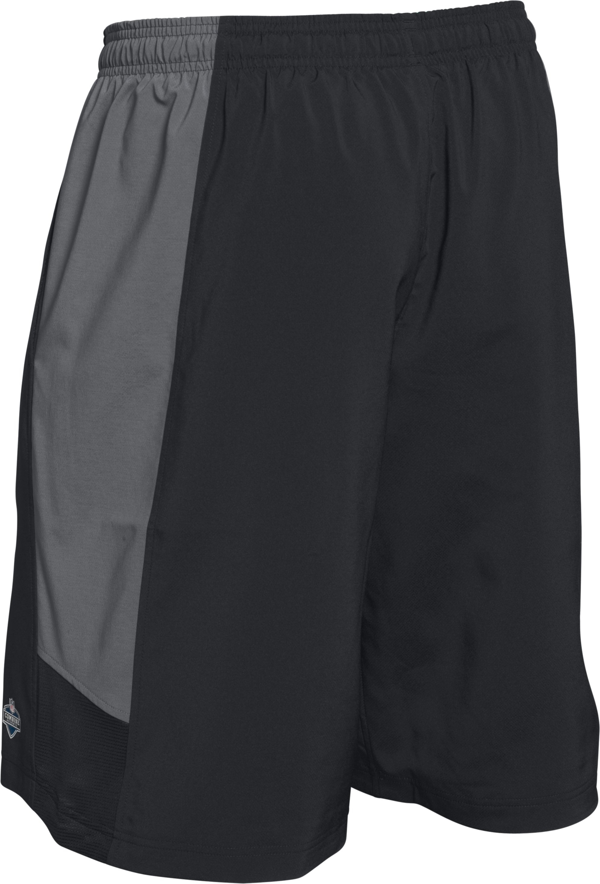 Men's NFL Combine Authentic Shorts, Black ,