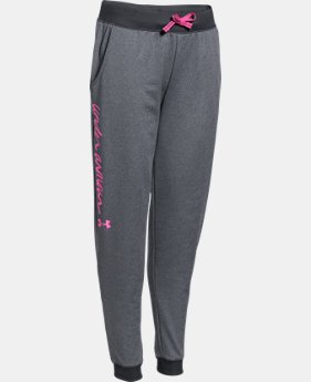 Girls' UA Premiere Jogger LIMITED TIME: FREE SHIPPING 1 Color $28.49