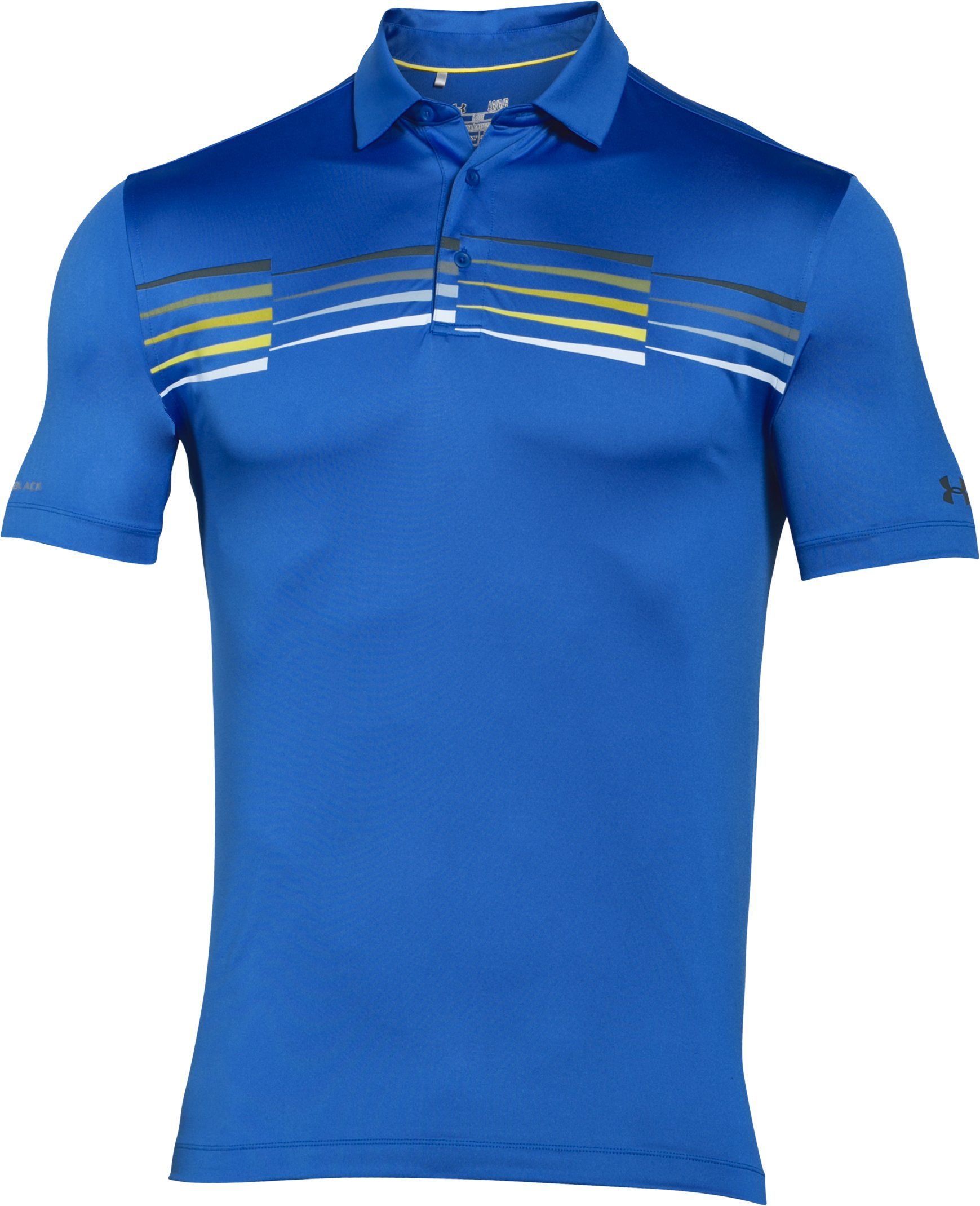 Men's UA coldblack® Ace Graphic Polo, ULTRA BLUE