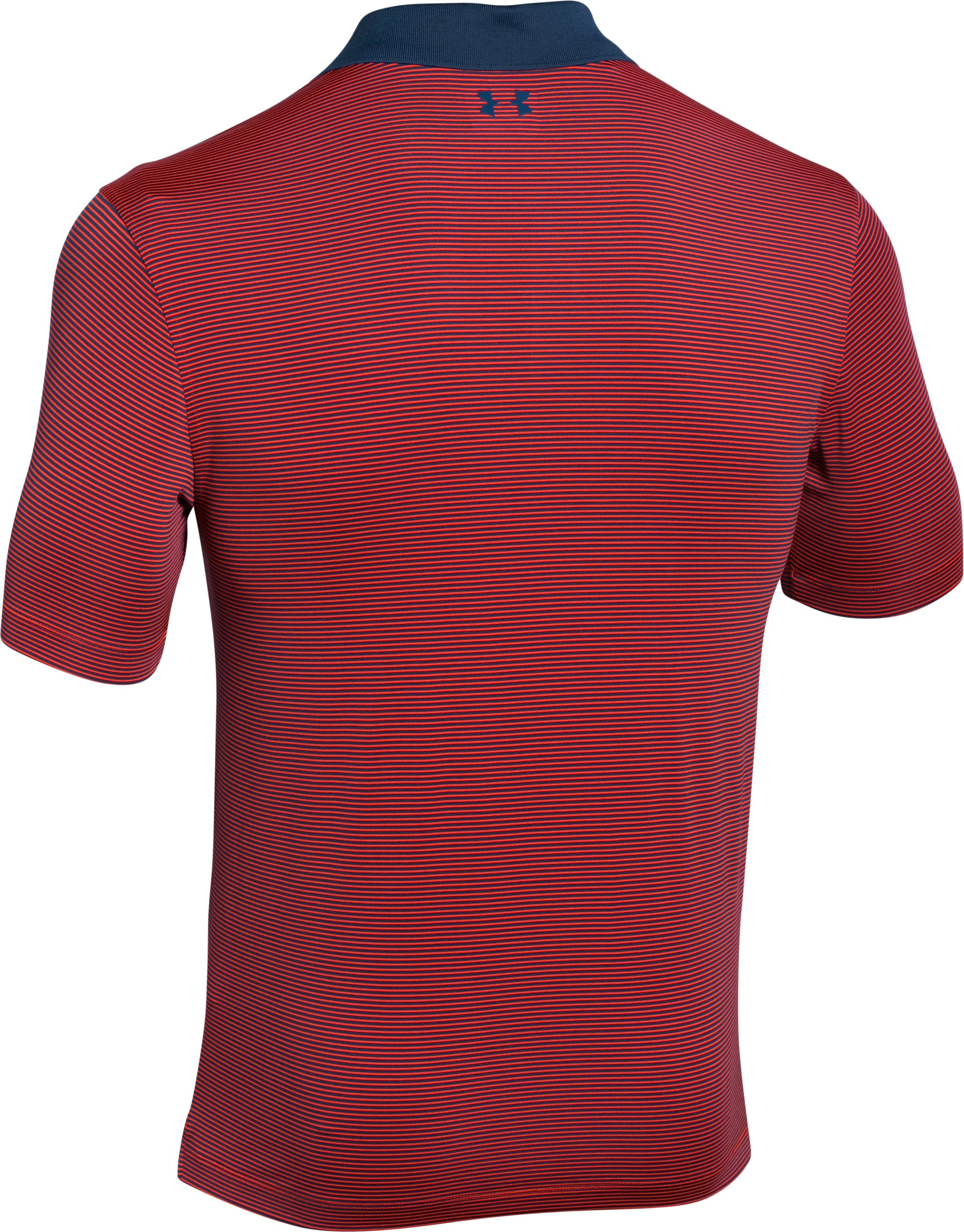 Men's UA Release Polo, ROCKET RED