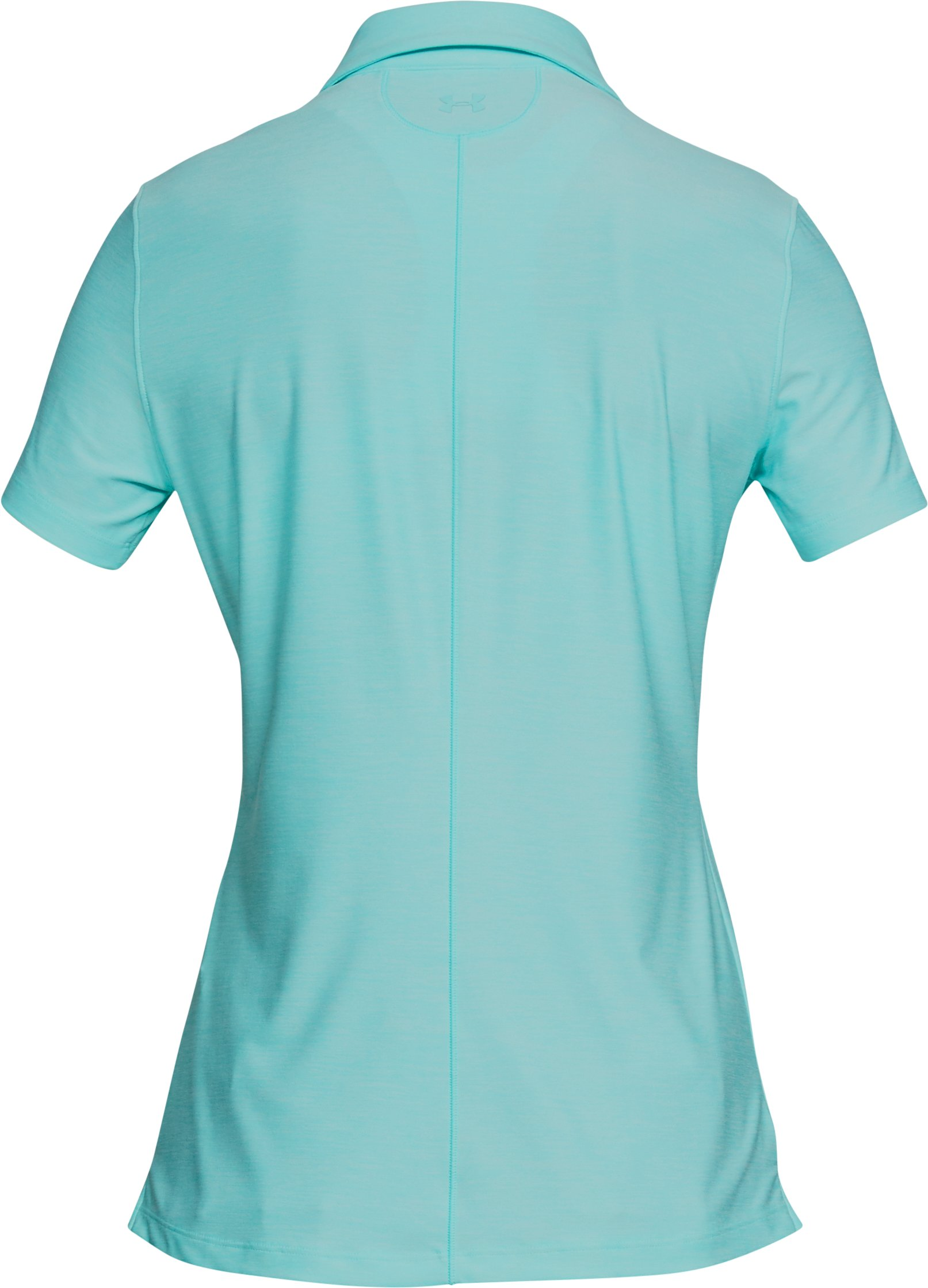 Women's UA Zinger Short Sleeve Polo, TROPICAL TIDE,