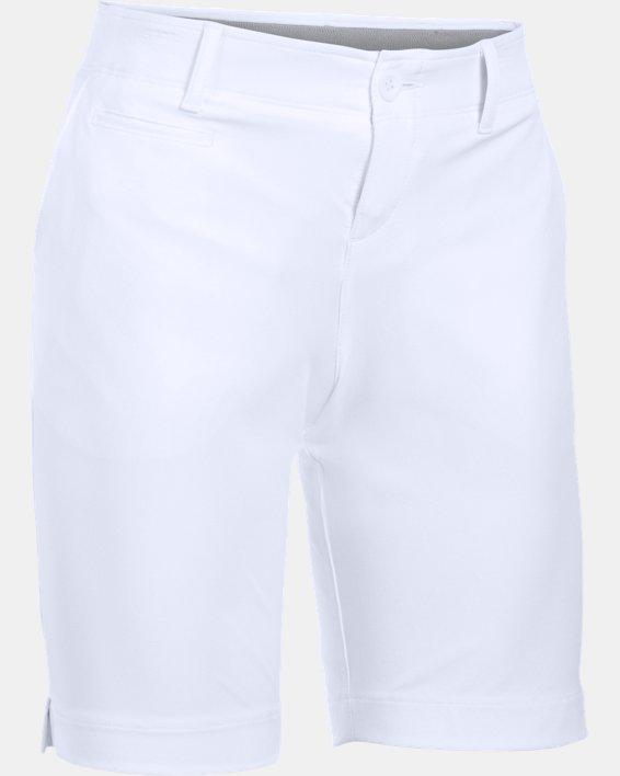 """Women's UA Links 9"""" Shorts, White, pdpMainDesktop image number 3"""