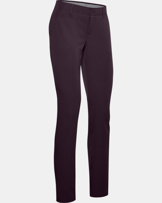 Women's UA Links Pants, Purple, pdpMainDesktop image number 4