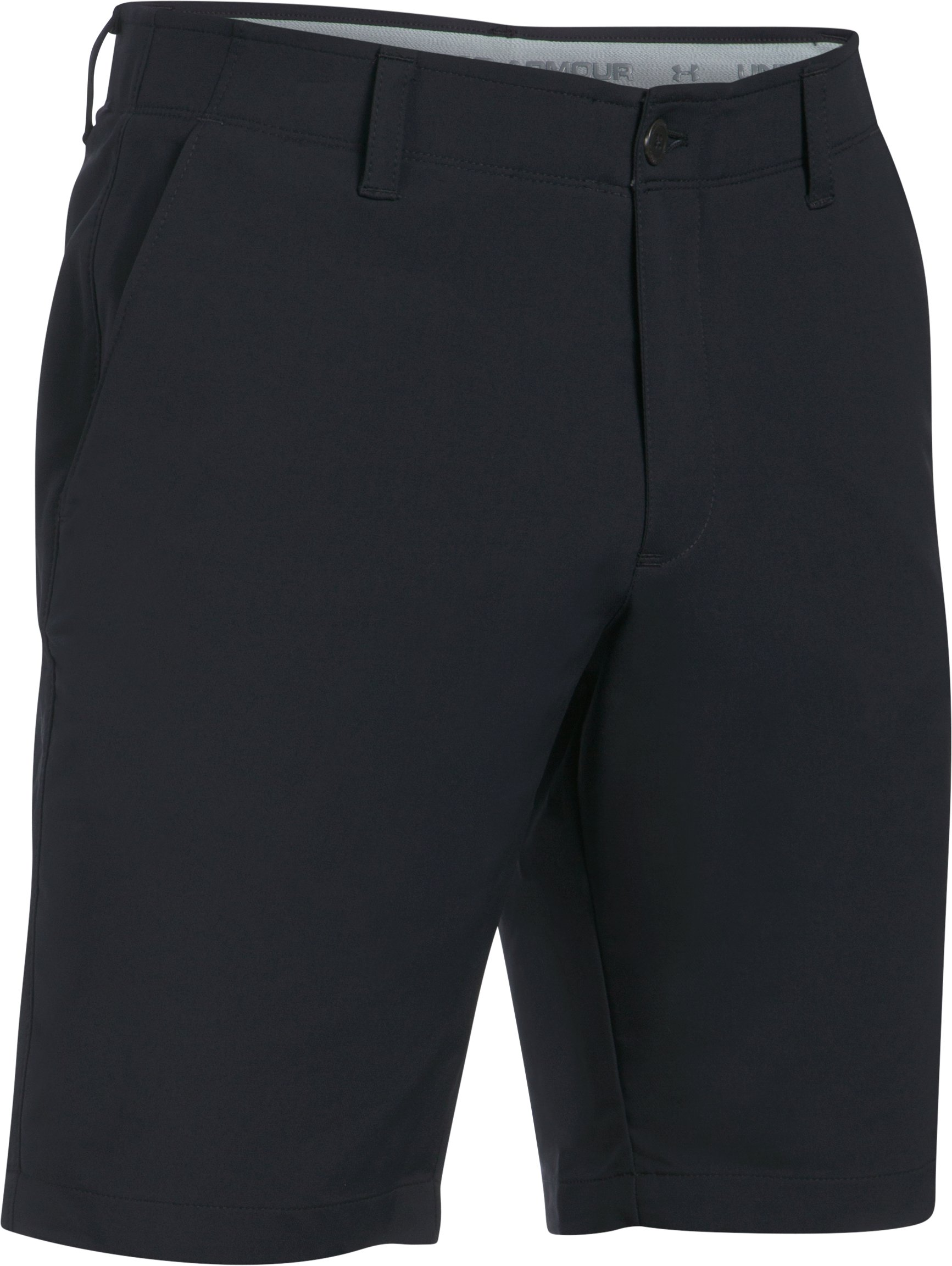 Men's UA Match Play Tapered Shorts, Black , undefined
