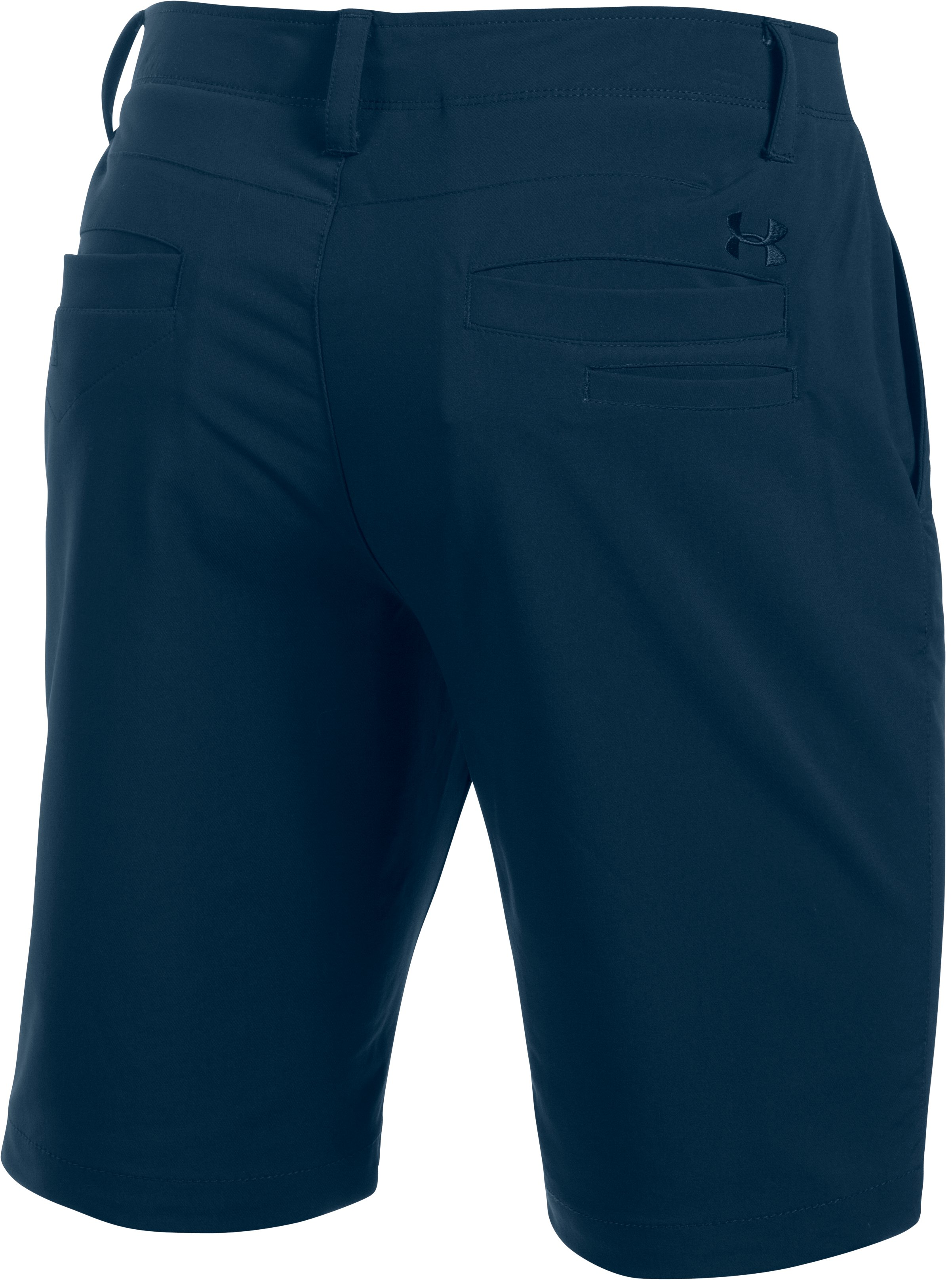 Men's UA Match Play Tapered Shorts, Academy,