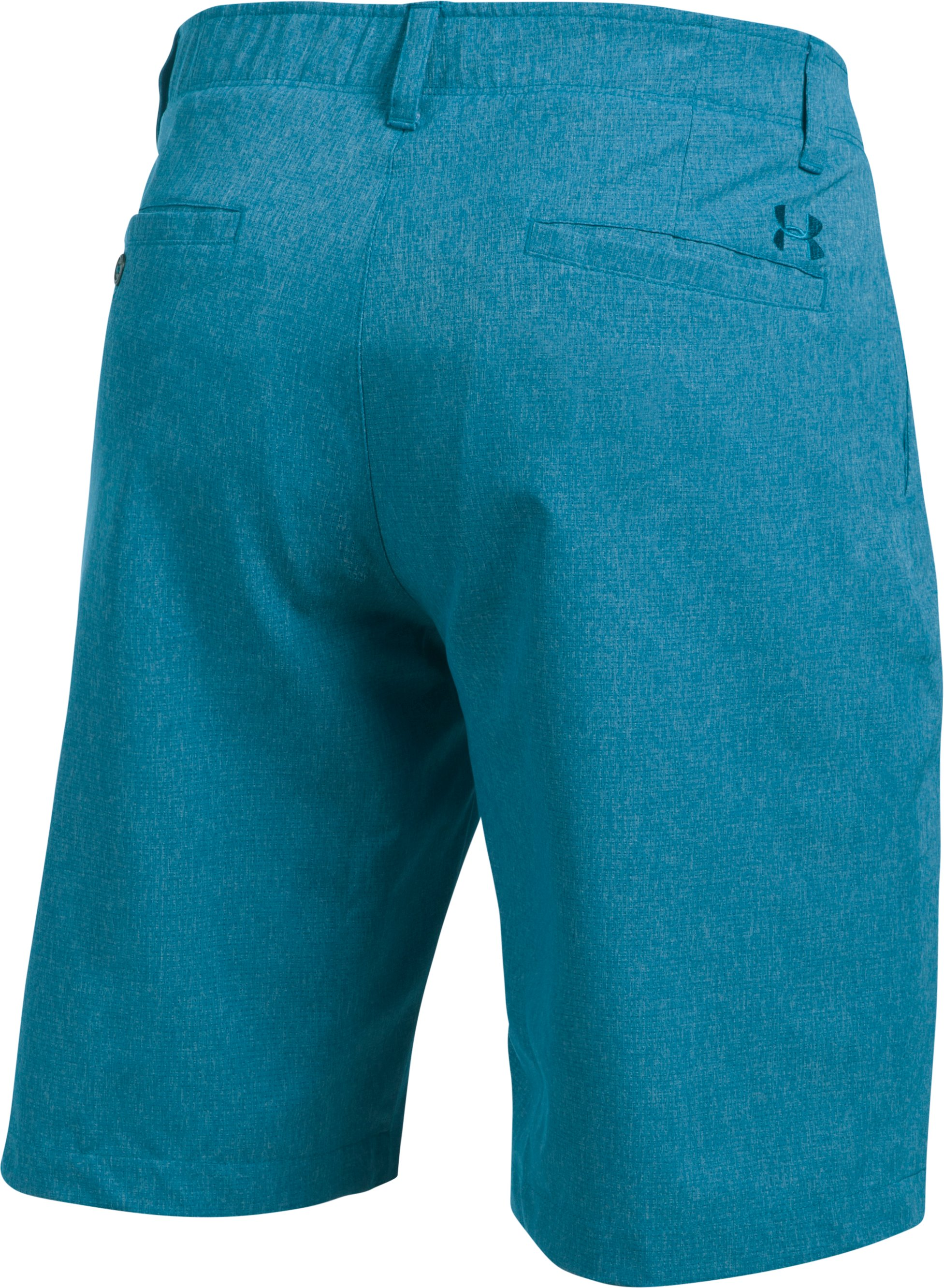 Men's UA Match Play Vented Shorts, BAYOU BLUE, undefined