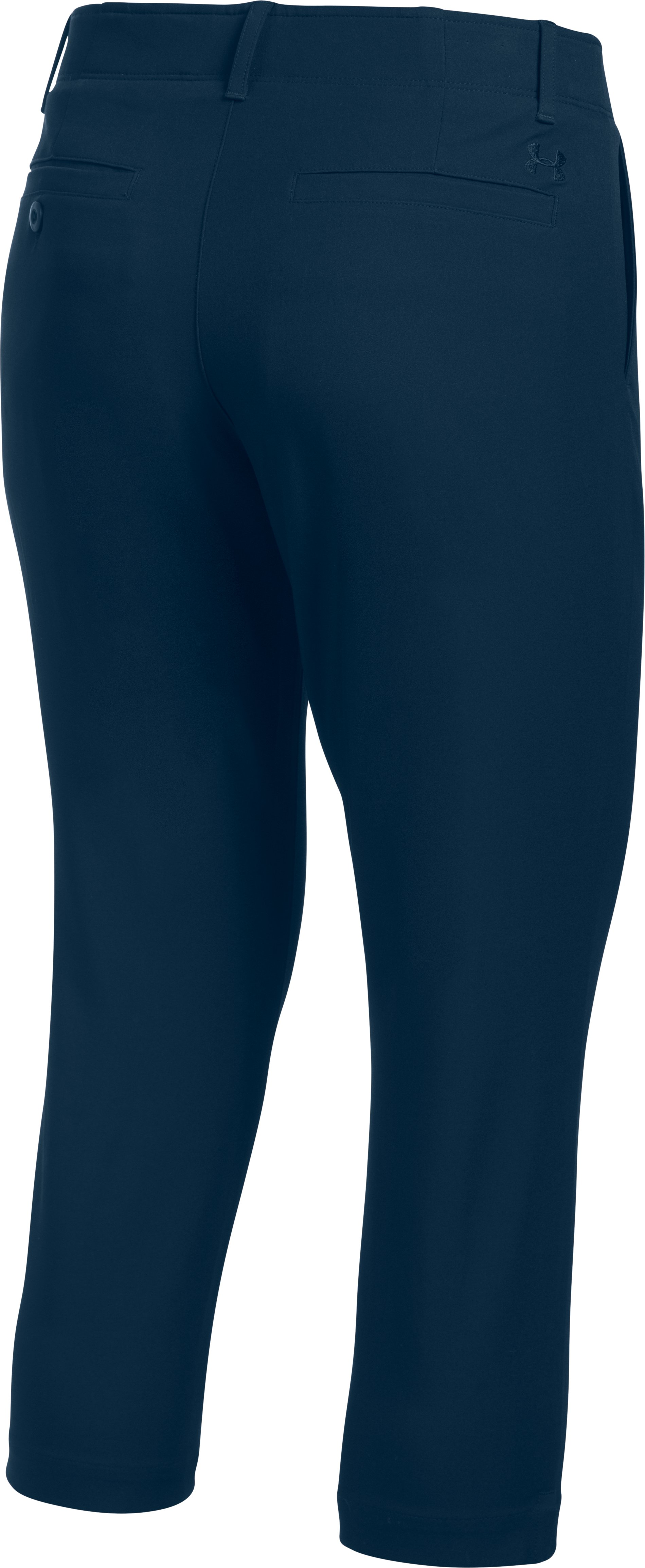 Women's UA Links Capris, Academy,