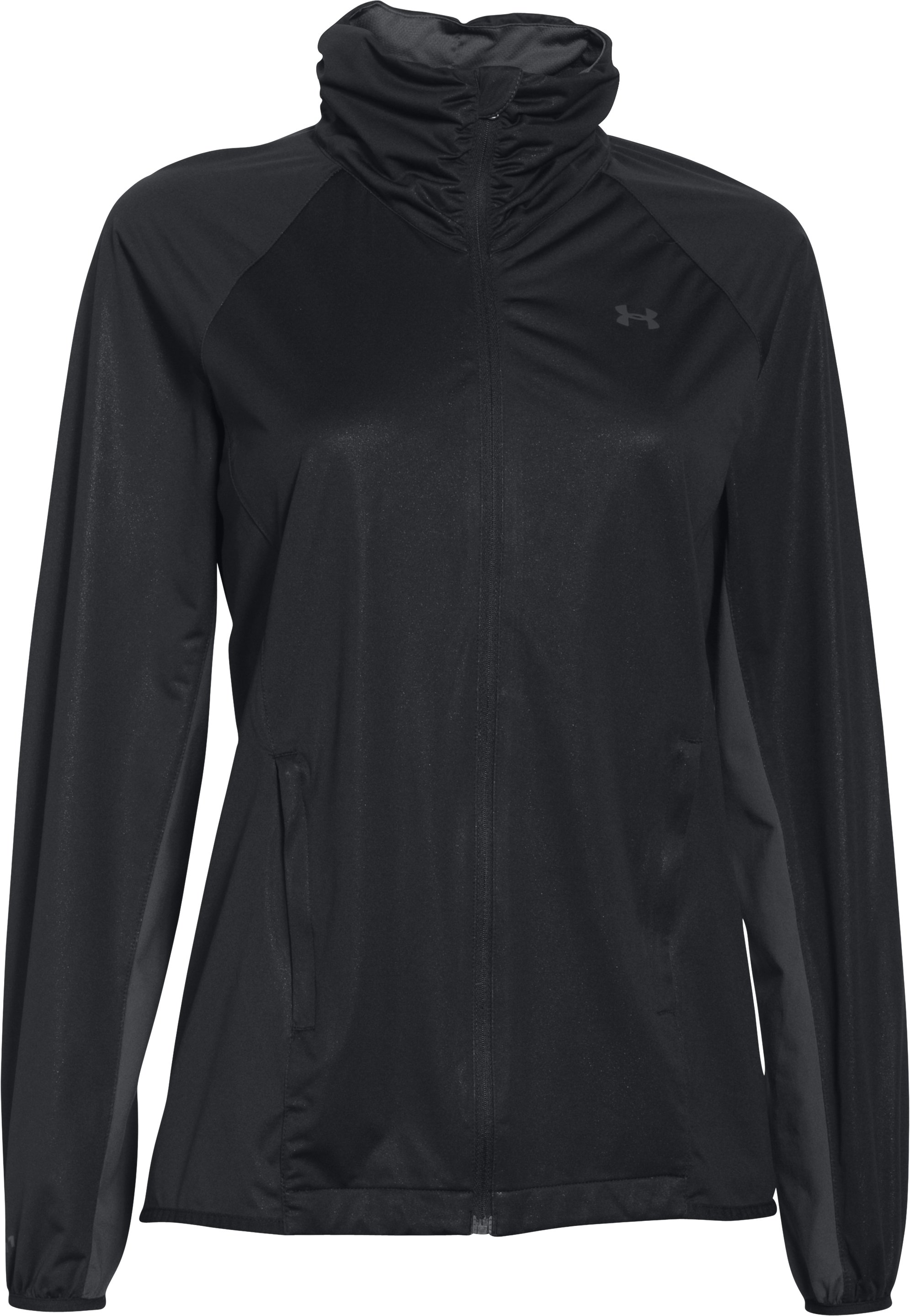 Women's UA Storm Golf Jacket, Black , undefined