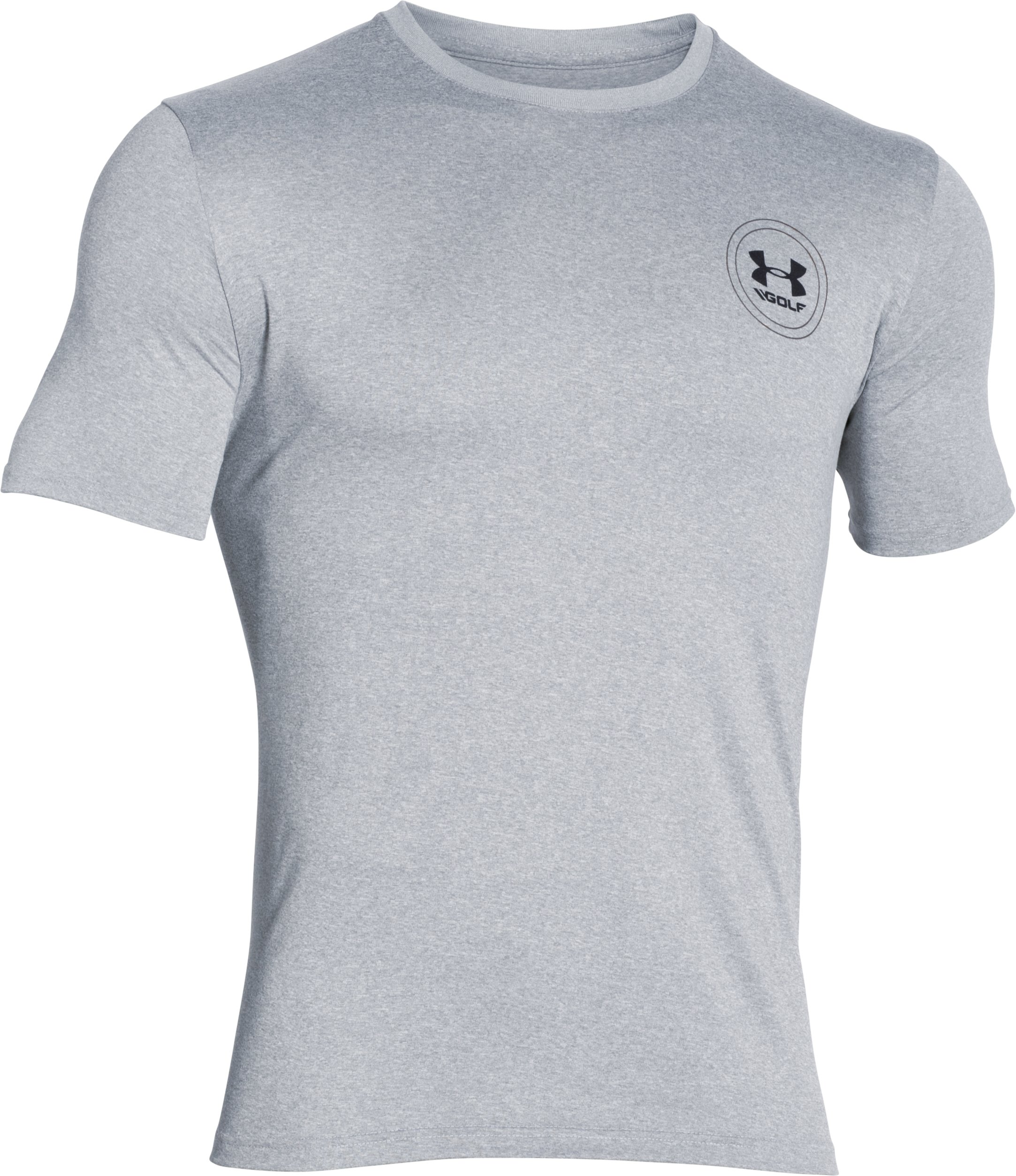 Men's UA Golf Graphic Men's UA Tech™ T-Shirt, True Gray Heather