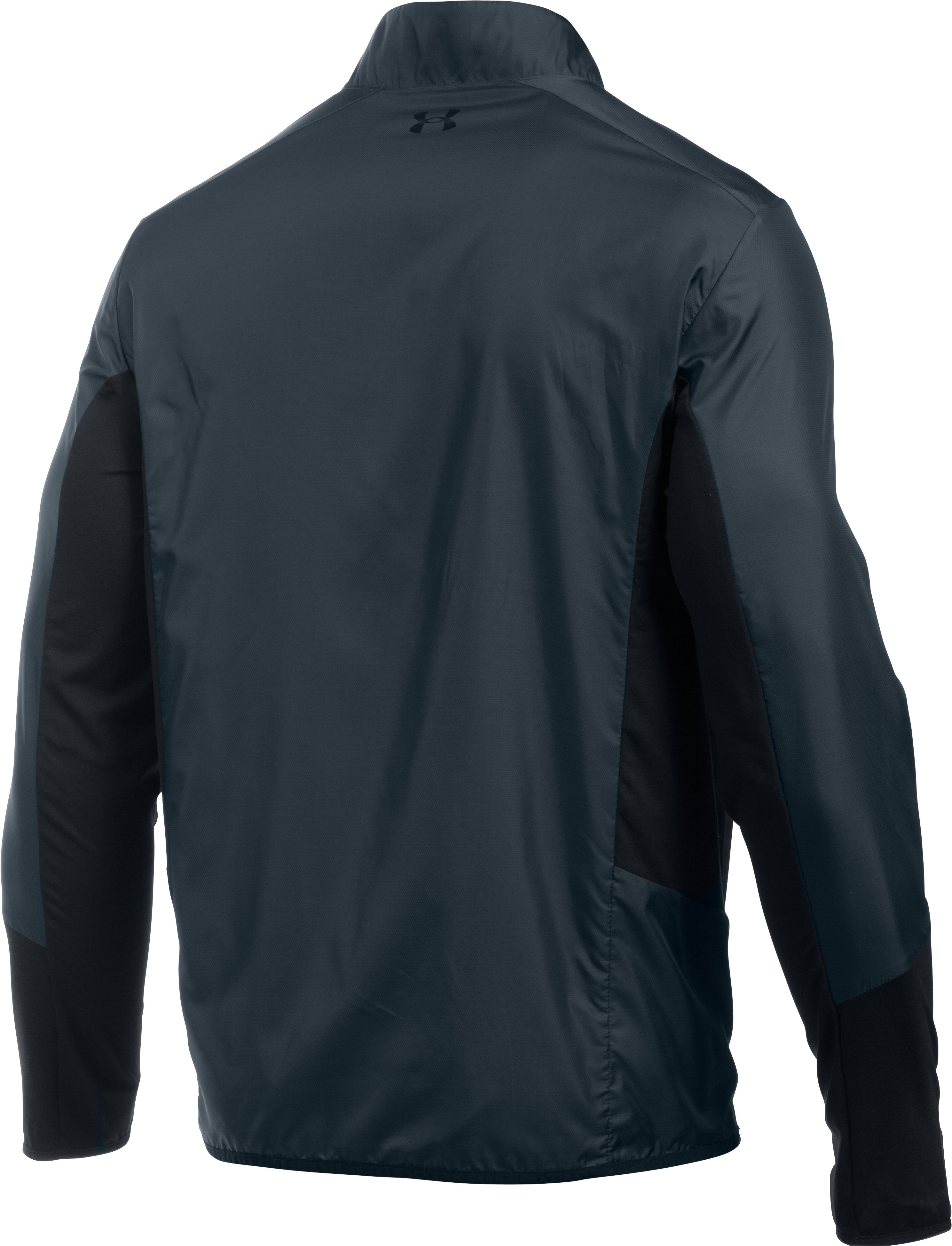Men's UA Groove Hybrid Jacket, STEALTH GRAY, undefined