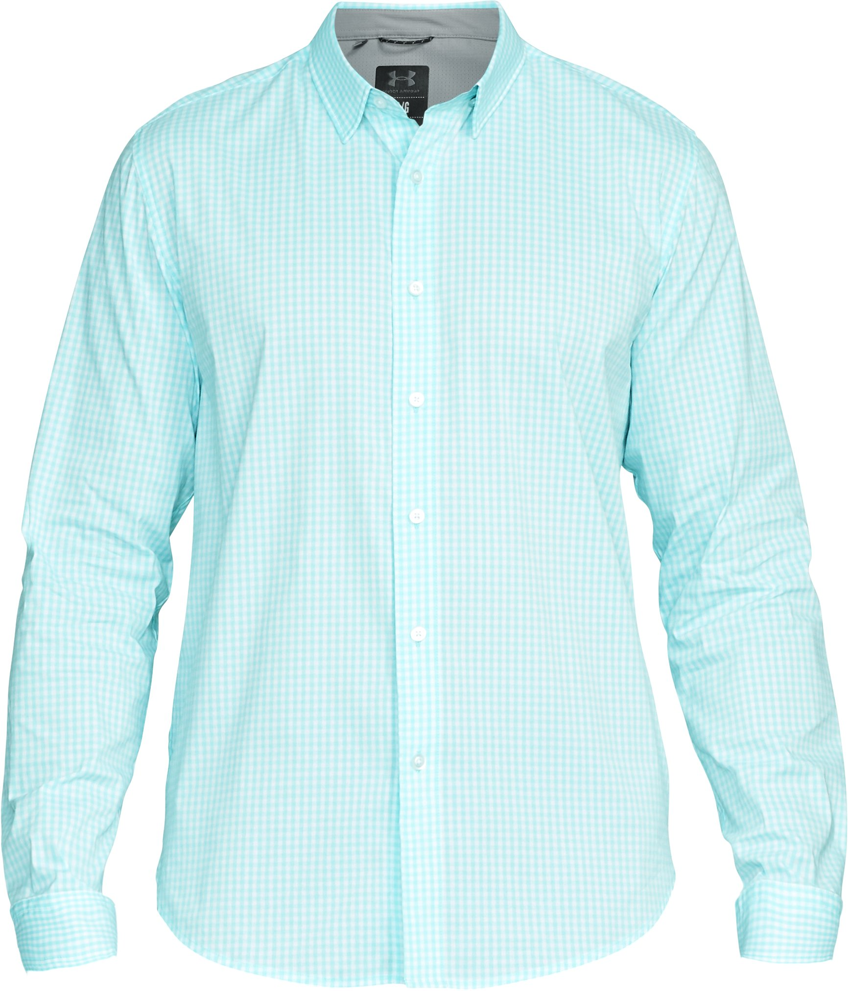 Men's UA Performance Woven Shirt, BLUE INFINITY, undefined