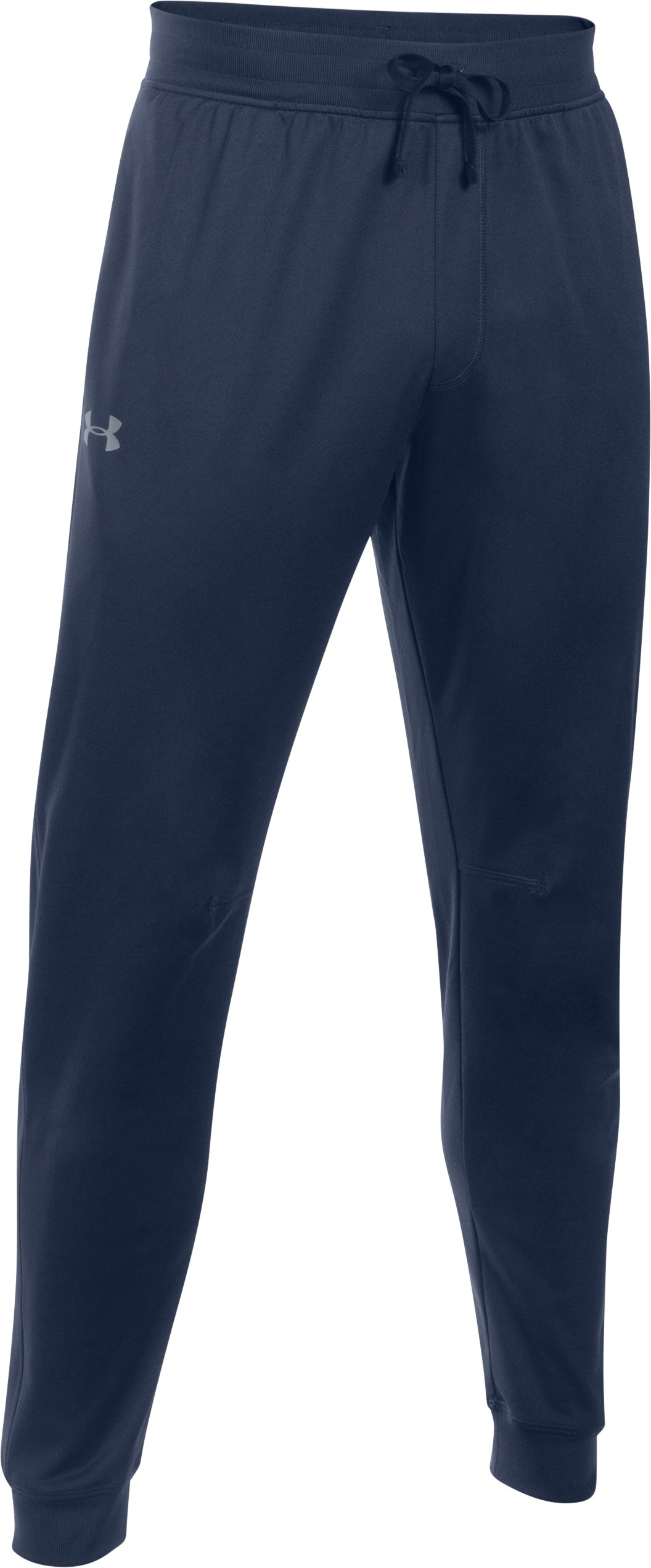 Men's UA Tricot Pants — Tapered Leg, Midnight Navy,
