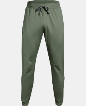 Men's UA Tricot Pants — Tapered Leg  1  Color Available $32.99