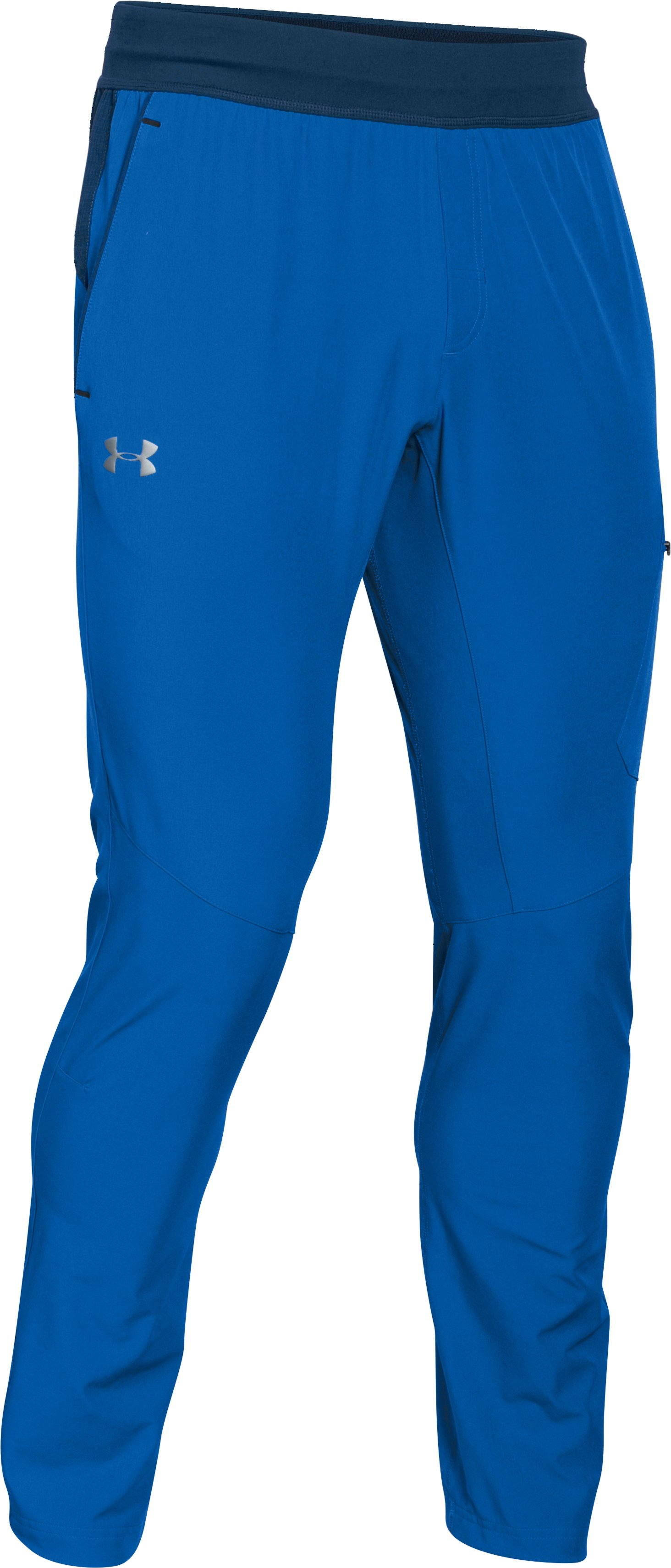 Men's UA Tapered Woven Pants, ULTRA BLUE,