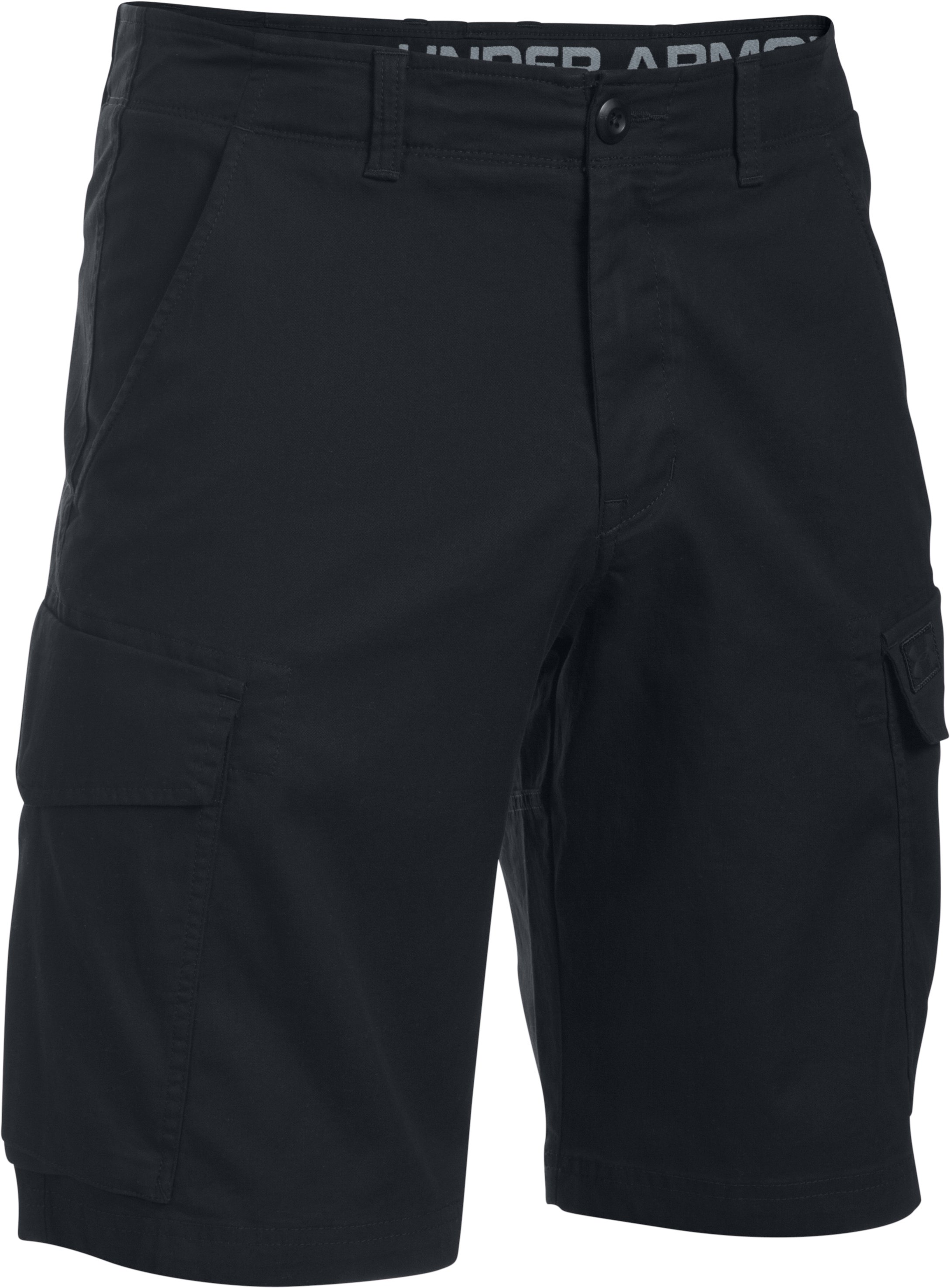 Men's UA Performance Cargo Shorts, Black , undefined