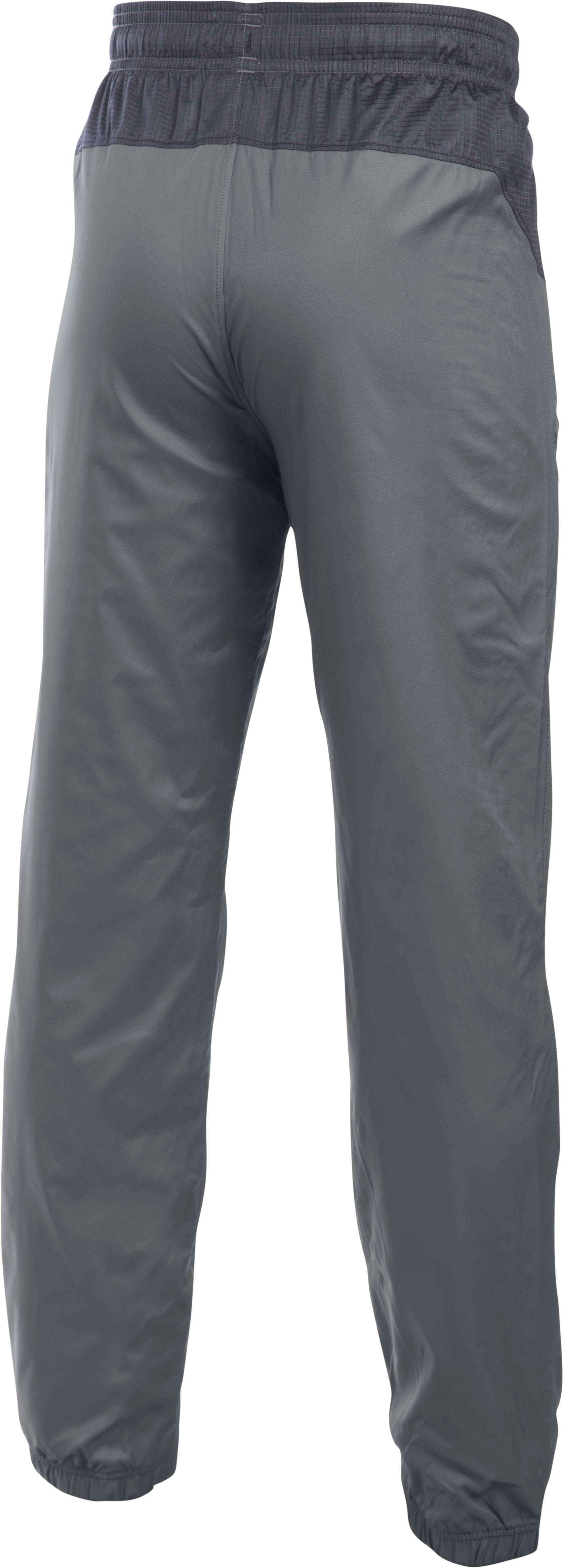 Boys' UA Storm Evaporate Woven Pants, Graphite, undefined