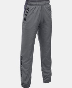 Boys' UA Storm Evaporate Woven Pants  1 Color $39.74