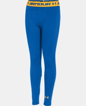 Boys' UA HeatGear® Armour Up Fitted Leggings  1 Color $29.99