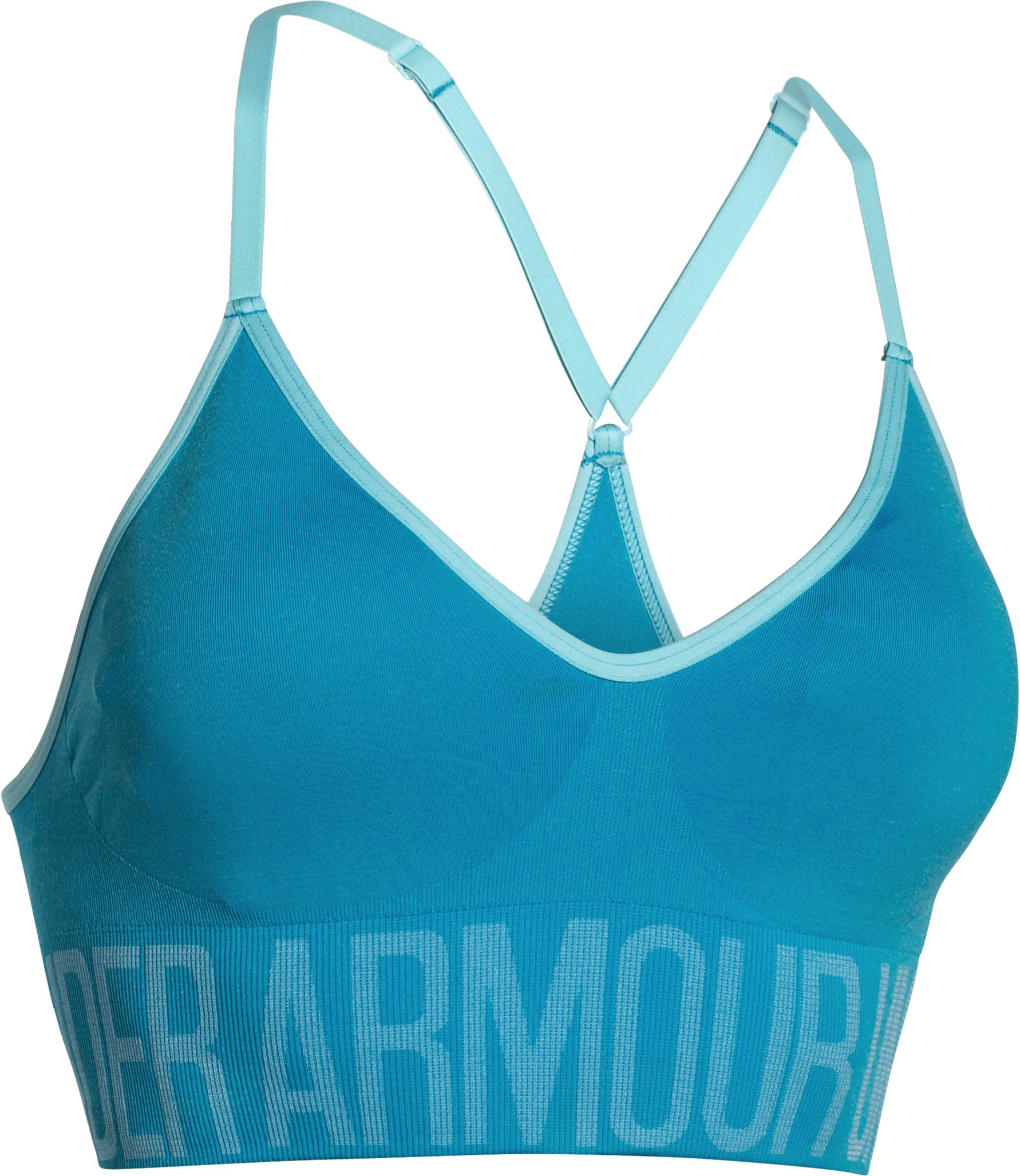 Women's Armour® Seamless Heather , DYNAMO BLUE