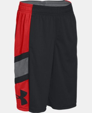 Boys' UA Crossover Basketball Shorts  3 Colors $26.99