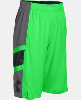 Boys' UA Crossover Basketball Shorts  1 Color $20.24