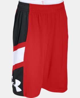 Boys' UA Crossover Basketball Shorts  1 Color $26.99