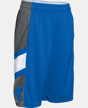Boys' UA Crossover Basketball Shorts  6 Colors $22.99