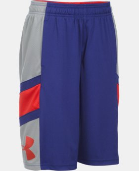 Boys' UA Crossover Basketball Shorts LIMITED TIME: FREE SHIPPING 1 Color $26.99