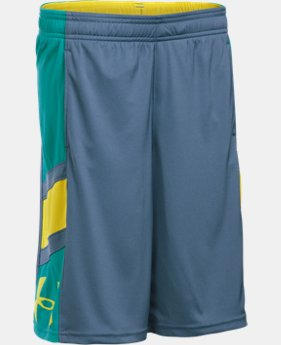 Boys' UA Crossover Basketball Shorts   $17.24