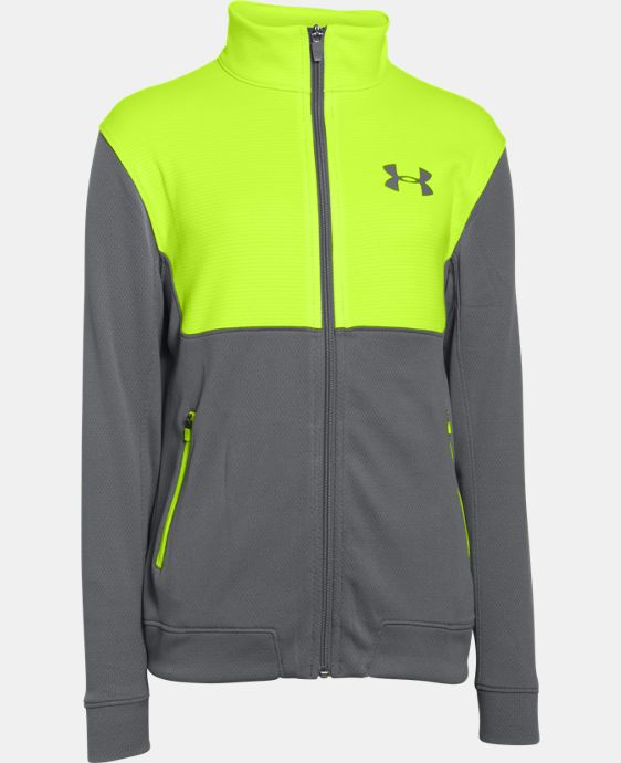 Boys' UA Select Warm-Up Jacket LIMITED TIME: FREE SHIPPING 1 Color $44.99