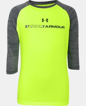 Boys' UA Tech™ ¾ Sleeve  2 Colors $20.24