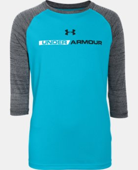 Boys' UA Tech™ ¾ Sleeve  2 Colors $17.24