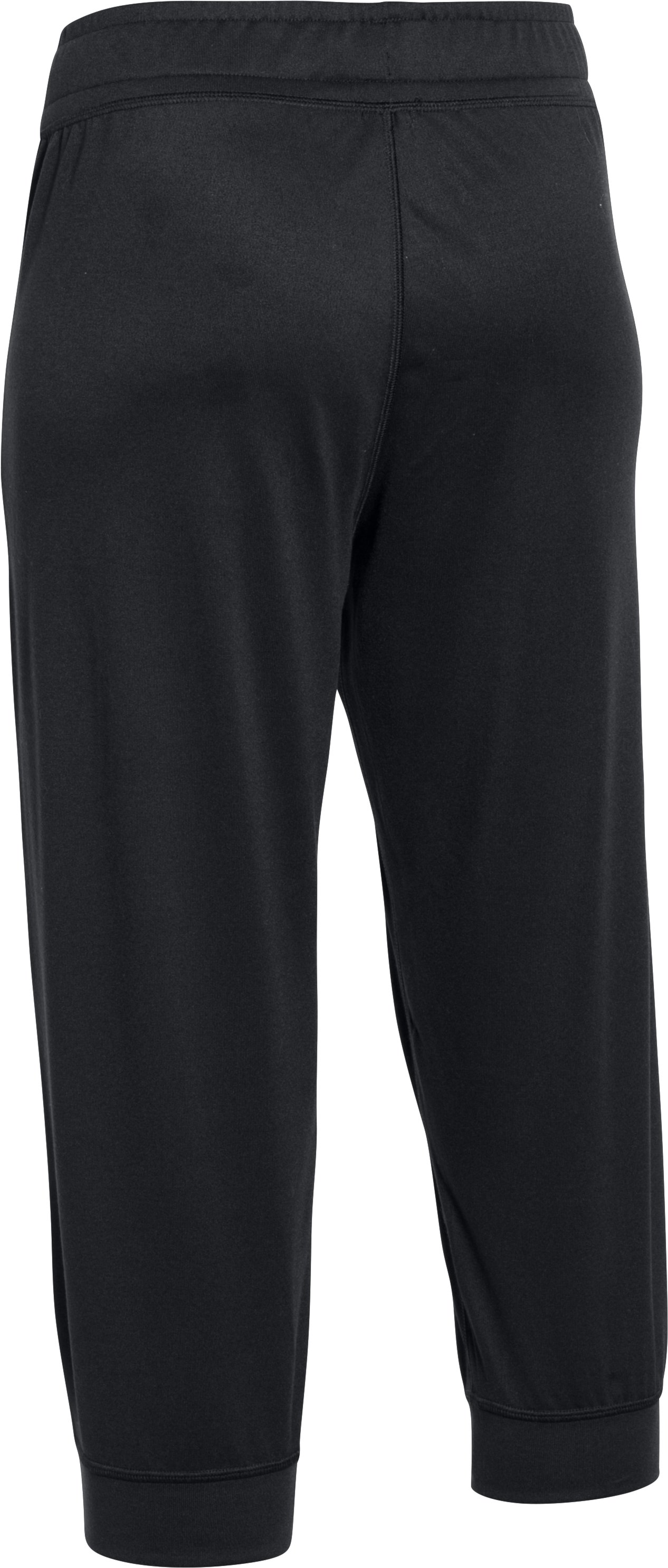 Women's UA Tech™ Capris, Black ,