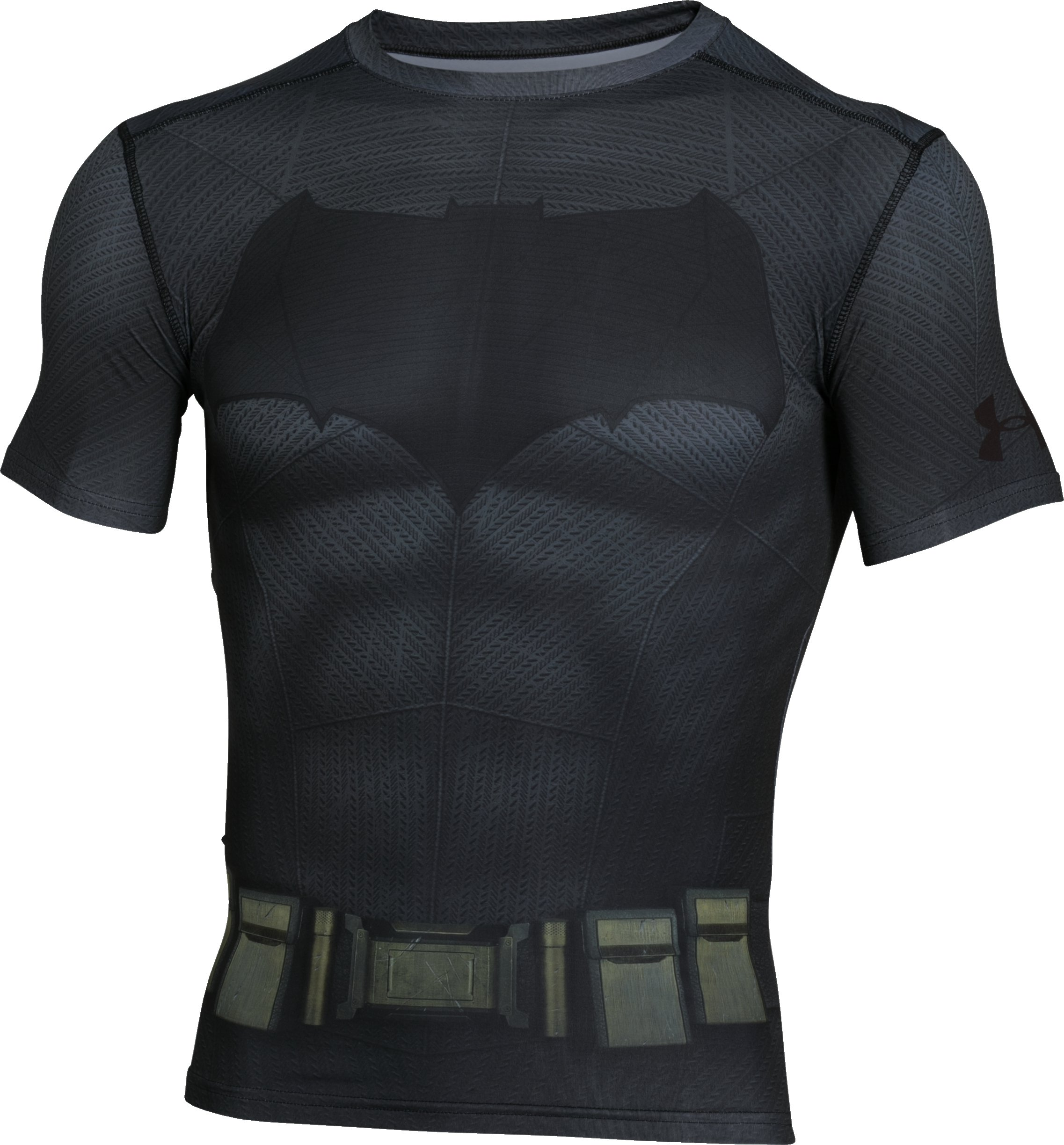 Men's Under Armour® Alter Ego Batman Compression Shirt, Graphite, undefined