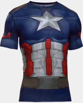 Men's Under Armour® Alter Ego Captain America Compression Shirt  1  Color Available $59.99