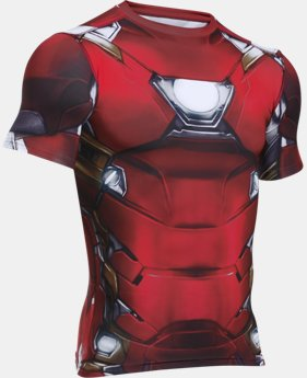 Men's Under Armour® Alter Ego Iron Man Compression Shirt  1  Color Available $69.99