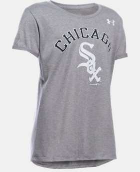 Girls' Chicago White Sox UA Tech™ T-Shirt LIMITED TIME: FREE U.S. SHIPPING 1 Color $18.99